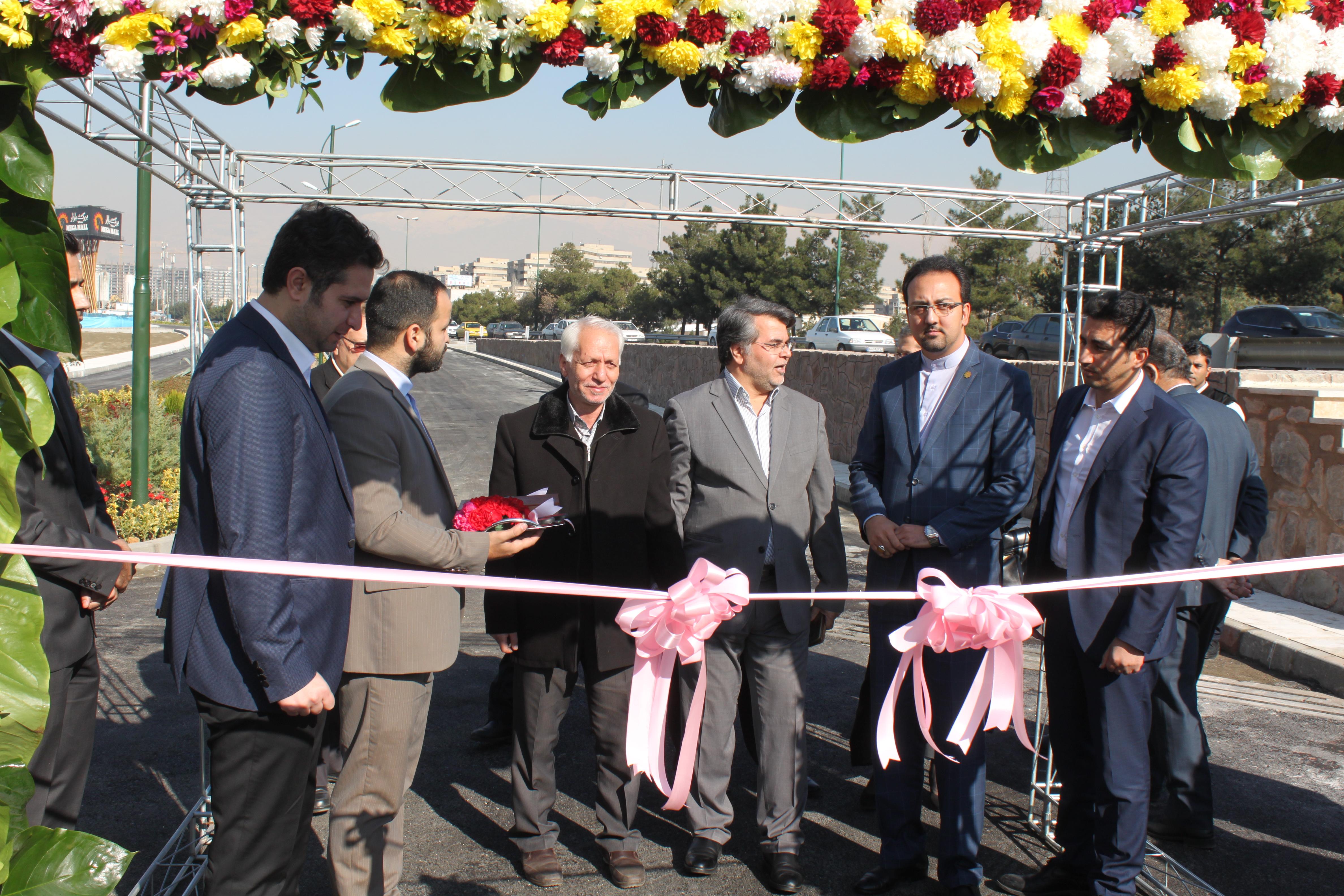 افتتاح راه دسترسی